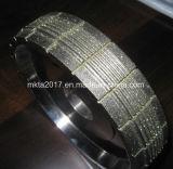 Meule diamant affûteuse de verre de montre avec des fentes