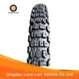 Neumático de piedra popular 4.10-18 de la motocicleta del modelo de la pisada