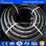 3/4 Zoll-flexibles schwarzes Tuch-Gummiluft-Wasser-Anlieferungs-Schlauch