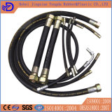 En 853 2sn шланга стального провода Braided гидровлический 5/16 дюймов