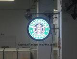 Placa do sinal do diodo emissor de luz para a loja da loja 4s com carrinho