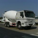 Caminhão cúbico 8cbm do misturador concreto dos medidores de Sinotruck HOWO 6X4 8