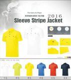 Type neuf T-shirt de sport du type 2016 de golf