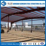 Здание мастерской и пакгауза стальной рамки