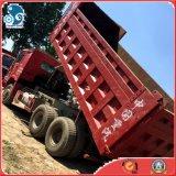 모래 저사용 시간을%s 가진 돌 납품 쓰레기꾼 트럭 HOWO 덤프 트럭