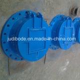 Válvula de aleta Ductile do ferro com selo do metal