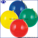 個人化された二重味方された広告の乳液の紫色の穿孔器の気球