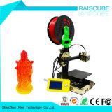 2017년 Rasicube 최신 판매 새 버전 쉬운 작동 Prusa I3 3D 인쇄 기계