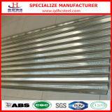 Il tetto d'acciaio ondulato dello zinco di SGCC riveste il prezzo per lamiera sottile