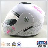 Подгонянный Flip вверх по шлему для всадников мотоцикла с забралом Doubel (LP501)