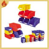 Stapelbarer industrieller Lager-Plastik zerteilt Voorratsbehälter