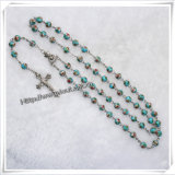 Le bois olive perle le rosaire (IO-cr251)