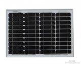 panneau solaire 40W mono pour le réverbère solaire