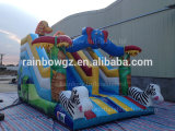 2016 Giant popolare Inflatable Jumping Jungle Slide da vendere