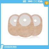 Kompakter einteiliger Colostomy-Beutel mit Schaumgummi-Grundplatte