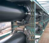 Transporte de correia industrial pesado da tubulação