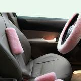 Couverture australienne d'épaule de garniture de ceinture de sécurité de véhicule de basane