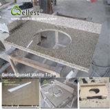 Parti superiori del controsoffitto e del marmo della cucina di vanità del granito con il buon prezzo