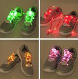 Shoestring шнурков СИД Multicolor с проблескивая СИД
