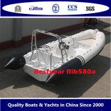 Stijve Opblaasbare Boot van Rib580A