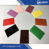 Branco, ultra branco, vermelho, azul, preto, verde para trás pintou o vidro para o painel de Splashback da cozinha