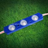 Carta de canal del LED con 1.5W LED Moduels para la muestra del contraluz