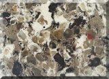 Hoogste Dubbele Countertop van de Steen van het Kwarts van de Kleur Kunstmatige