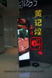 Étage restant annonçant l'affichage à LED Polychrome d'intérieur d'écran Chaussure-Polissant le signe de Digitals