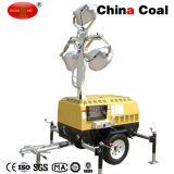 Torre clara móvel portátil de motor Mo-5659 Diesel