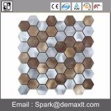Mosaico de aluminio de Tille del metal de la decoración de la casa para el azulejo de suelo