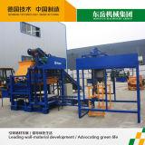 Máquina de fatura de tijolo automática Qt4-25 do tipo de Linyi Huali meia