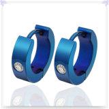 패션 악세사리 스테인리스 보석 형식 귀걸이 (EE0323)