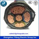 cabo distribuidor de corrente blindado isolado PVC de cobre do condutor de 0.6/1kv 4X95mm2 para a baixa tensão BS 6346, IEC 60502-1