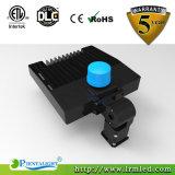Dlc genehmigte LED-Handelsbeleuchtung-Parkplatz-Licht Shoebox 150W