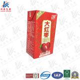 Verpackung-Material für H-Milch und Saft
