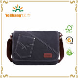 iPad Bag Bookbag Satchel School Bag College Bag Purse Daypack de Bag do portátil de Messenger Bag Shoulder Bag da lona