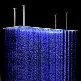 400*800mm RGB Ceiling Mounted LED Shower