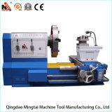 Torno convencional horizontal resistente grande de China para los cilindros de torneado (CW61160)