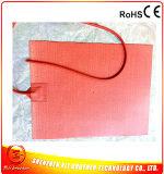 400*300*1.5mm de Verwarmde RubberVerwarmer Op hoge temperatuur 220V 1000W van het Silicone van het Bed