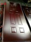Piel de la puerta de HDF para la piel de la puerta de la melamina de /3mm del mercado de Etiopía