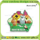 放しなさいカスタマイズされた昇進のギフト3D PVC冷却装置磁石のオーストラリア人(RC-AN)を
