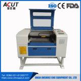 Máquina acrílica de madeira do gravador da estaca do laser do papel do MDF do mini CO2