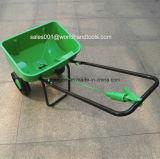 Propagador manual do fertilizante da transmissão do jardim