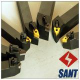 Mangos de maniobra para el corte indexable de la máquina del torno del CNC