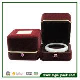 Cadre de boucle de bijou de mariage de velours de qualité