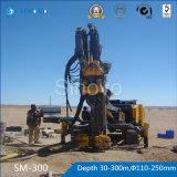 Aparejo de taladro hidráulico de la correa eslabonada SM300 para la ingeniería de la fundación