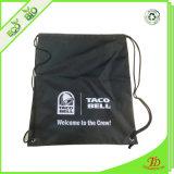 Zaino promozionale personalizzato del sacchetto di Drawstring 210d