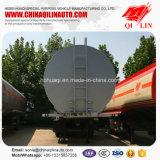 Poids total 40 tonnes de liquide combustible de transport de camion-citerne de remorque semi