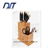 Reste en bambou d'outil de combinaison de Multifuctional de couteau