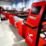 Grandes machines de découpage de laser de fibre en métal d'emplacement de travail pour le carbone Tube&Sheet